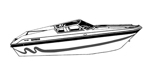 How To Draw A Power Boat by Semi Custom Cover For Performance Style Boat 23 6 Quot X 102