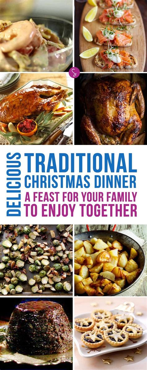 From new variations on old favorites. How to Cook a Traditional Christmas Dinner Menu You'll ...