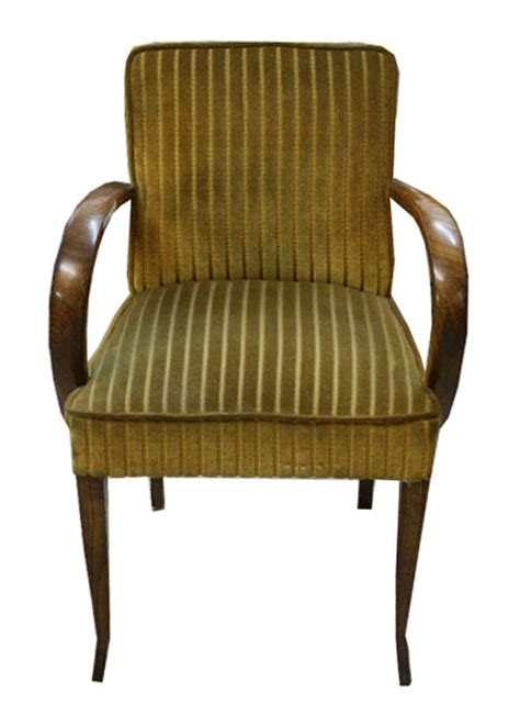 fantastic set of six matching nouveau arm chairs for