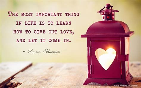 The Most Important Things In Life Quotes Quotesgram
