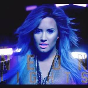 Demi Lovato Neon Lights Cover by Selin-T on DeviantArt