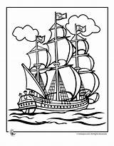 Pirate Ship Coloring Activities sketch template