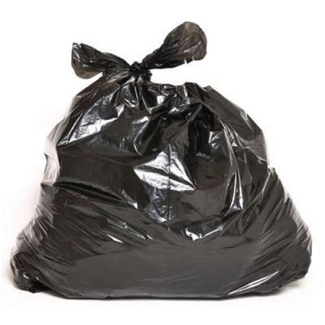30 x 38 Strong Black Garbage Bags 200 Bags Per Case