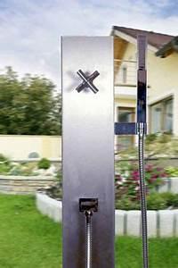 edelstahl kaltwasser garten handdusche typ madeira With französischer balkon mit garten warmwasser