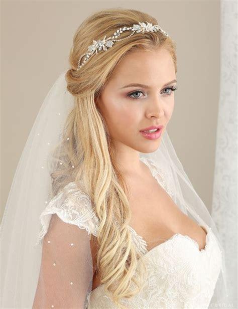wedding hairstyles veil ideas  pinterest