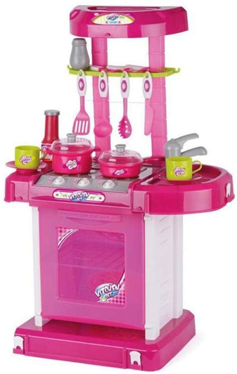 Turban Toys Battery Operated Kitchen Super Set With Light