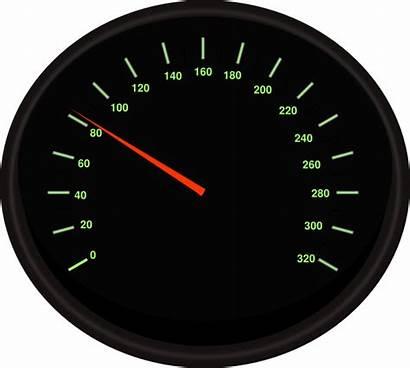 Speedometer Clip Clker Clipart Vector