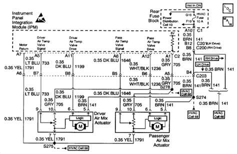 Wiring Diagram For 2002 Cadillac by 99 Cadillac Wiring Diagram