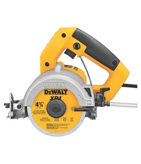 dewalt dw862 1270w heavy duty tile wood cutter