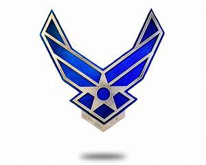United States Air Force Logo With Custom Name Plate - Hex