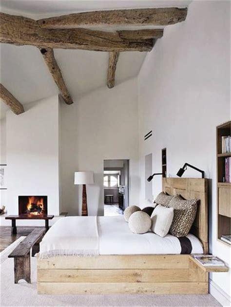 chambre avec poutre 10 déco chambres avec poutres apparentes charmantes
