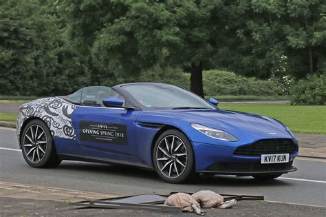 aston martin db11 when prototypes become mobile billboards aston martin