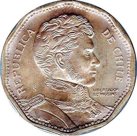 50 Pesos Chile Numista