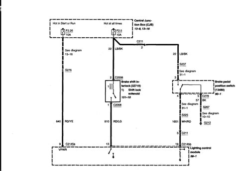 2010 Crown Victorium Wiring Diagram by 2005 Ford Crown Interceptor Lcm Relay For