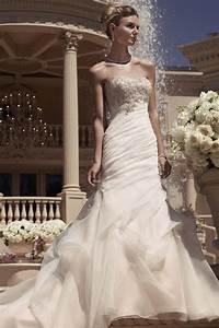 casablanca bridal style 2107 top styles pinterest With wedding dresses brookfield wi