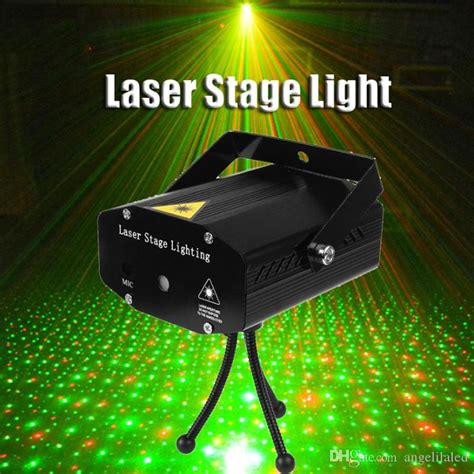Portable Mini Led Laser Projector Disco Light Red
