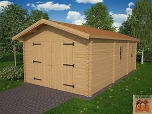 kit garage bois de 1890 m2 avec espace rangement de 759 m2 With garage en bois en kit