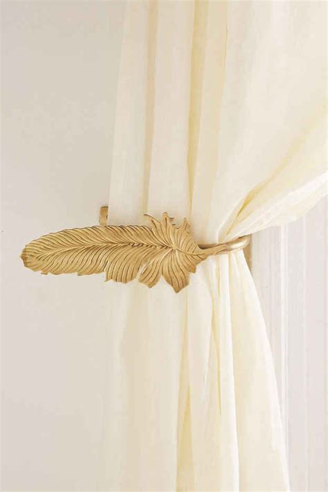 Drape Holders - 25 best ideas about curtain holder on brown