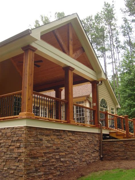 covered front porch plans covered porch