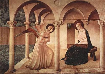 Famous Fra Painting Annunciation Angelico