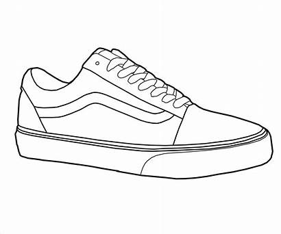 Vans Coloring Shoes Pages Printable Getcolorings