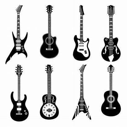 Guitar Tattoo Guitars Drawing Tattoos Guitare Svg