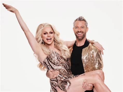 australia courtney act  compete  dancing