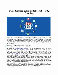 Small Business Guide To Network Security Planning