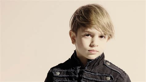 Hairstyles For Boys With Hair by Trendy Haircut With A Fringe For Boys