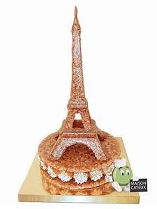 Tour Eiffel Deco : tour eiffel de nougatine ~ Teatrodelosmanantiales.com Idées de Décoration