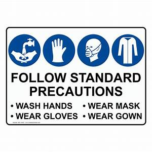 Image Gallery standard precautions
