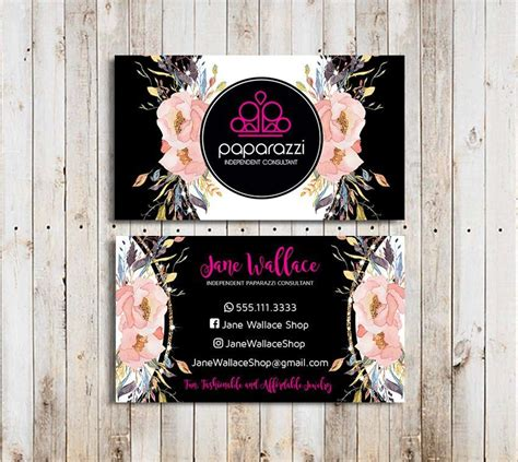 paparazzi business card sample paparazzi business card
