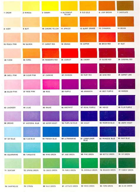 Color Shades Of by 70 Best Watercolor Mixing Chart Images On