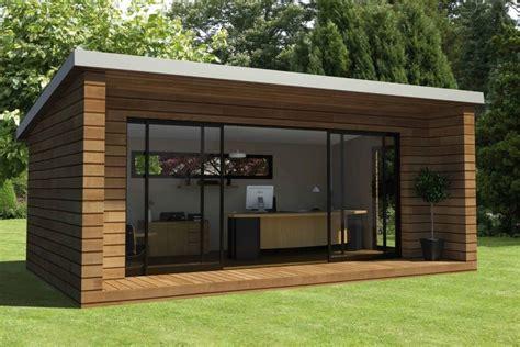 construire un bureau en bois construire un garage en bois 20m2 4 plan abri de jardin