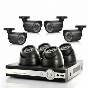 Camera De Surveillance Interieur : kit 4 cam ras d me enregistreur dvr ~ Carolinahurricanesstore.com Idées de Décoration