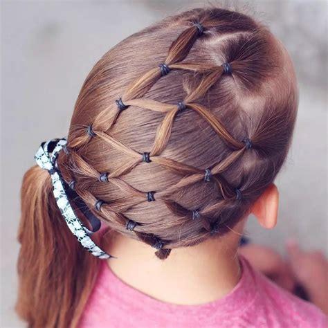 Magnifiques coiffures pour petite fille 2017 | Coiffure simple et facile