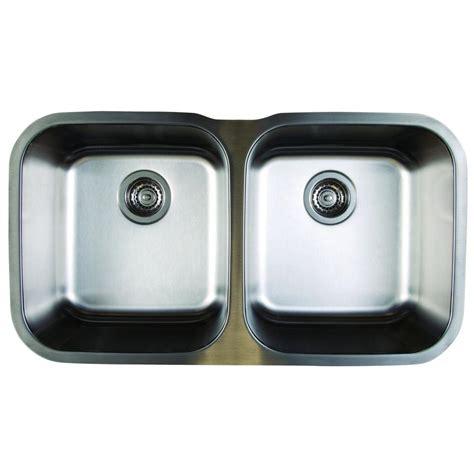 undermount kitchen sinks stainless steel blanco stellar undermount stainless steel 33 in equal 8730