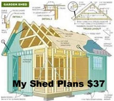 shed plans    wood shed plans guide cool