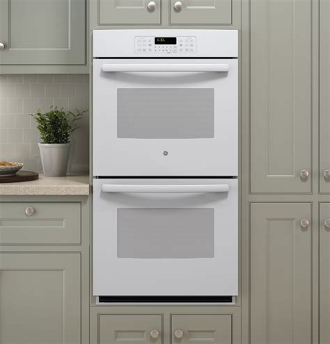 jkdfww ge  built  double wall oven white