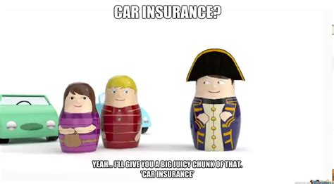 Mismeaningful Car Insurance Man By Sugarshimmer