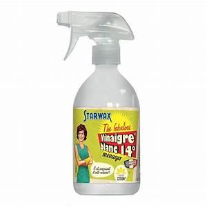 Produit Menager Maison : vinaigre blanc starwax produits d entretien maison ~ Dallasstarsshop.com Idées de Décoration