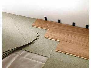 pose parquet flottant clipsable galerie avec sous couche With video pose parquet flottant clipsé