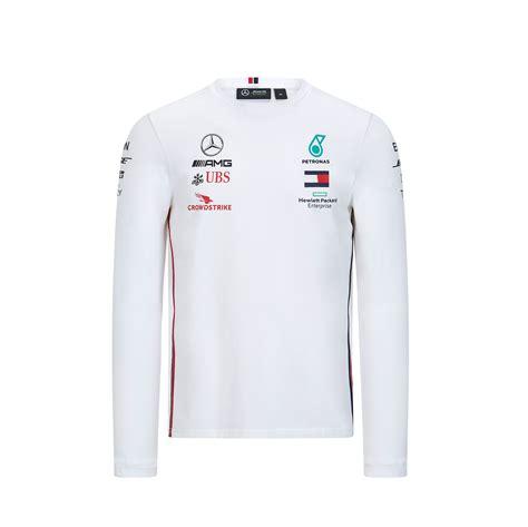 Скоро в продаже запуск 20.02. Official 2020 Mercedes-AMG F1 Team Mens Long Sleeve T-Shirt Tee Hamilton Bottas | eBay