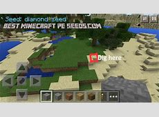 Pe Diamonds Seeds Minecraft 2