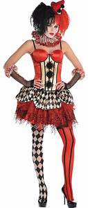 Create Your Own Women's Jester Costume Accessories - Party ...
