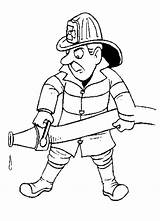 Firefighter Coloring Pages Printable Fireman Clipart Fire Fighter Hat Cliparts Library Cartoon Line Sam Community Helpers Firemen Clipartbest Printables Truck sketch template