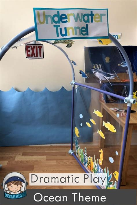 aquarium dramatic play  preschool  pre
