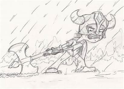 Frozen Skyrim Drawings Planet Character Sketches Daniel