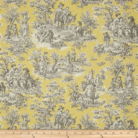waverly rustic toile navy discount designer fabric