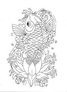 Koi Fish Half Sleeve Tattoo Sample   Lucky cat tattoo, Half sleeve tattoos drawings, Koi fish tattoo